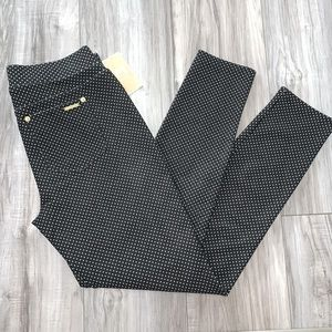 🆕MK Pull-on Polkadot Pants with Gold Accents